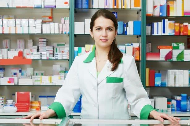 Женщина фармацевт