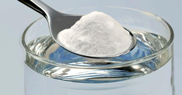 Сода в ложке