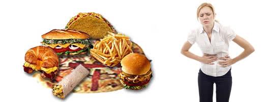 Неправильное питание приводит к запорам