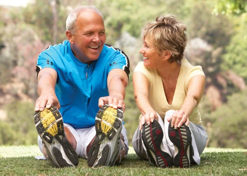 Люди, ведущие активный образ жизни