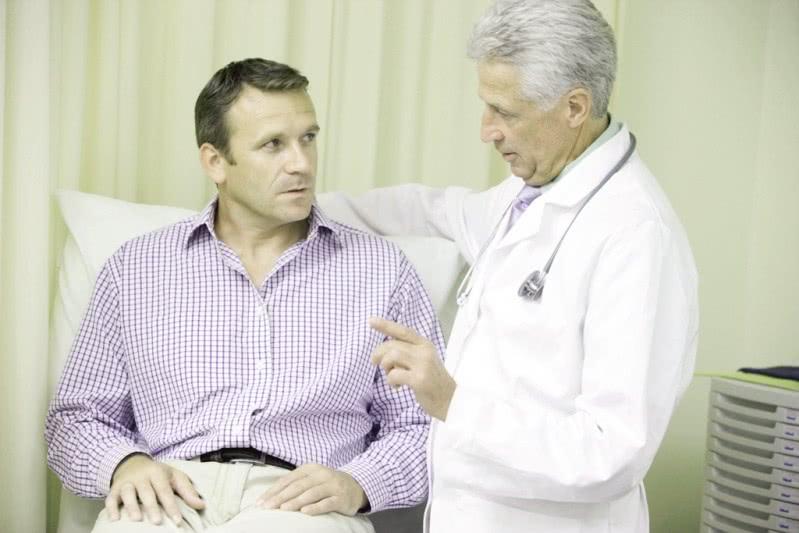 Беседа с врачом перед осмотром