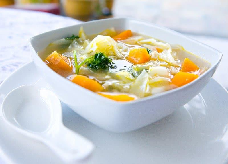 рецепт приготовления протертого овощного супа после операции