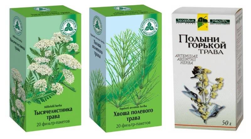 Травы для сбора от дисбактериоза и синдрома раздраженного кишечника