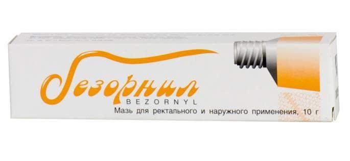 Мазь Безорнил