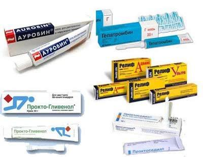 Медикаментозные средства от геморроя