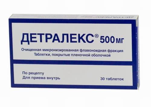 Детралекс в упаковке 30 таблеток