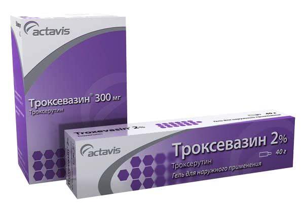 Троксевазин: гель и капсулы