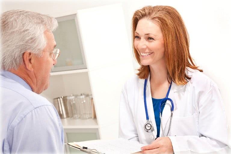 Пациент и лечащий врач