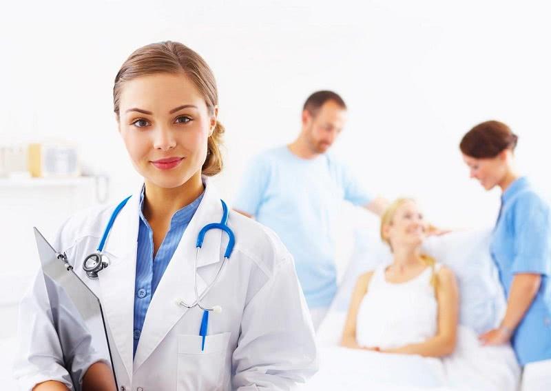 Пациент и доктора