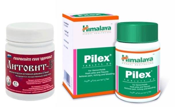 Препараты Пайлекс и Литовит-Б