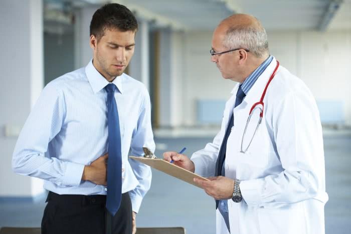 Лечение цирроза, доктор и пациент